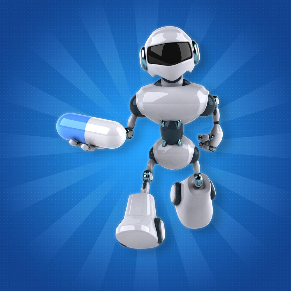 robot eczacı
