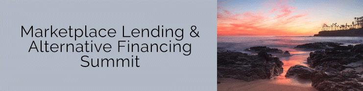 Marketplace Lending & Alternative Financing