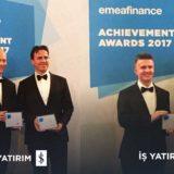 İş Yatırım, EMEA Finance Tarafından Ödüllendirildi