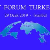 IT Forum Turkey, 29 Ocak'ta Fairmont Hotel'de