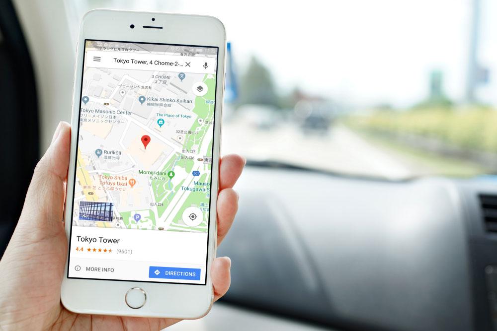 google maps cep telefonu sinyali takip programi
