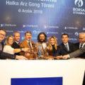Borsa İstanbul'da gong Papilon Savunma için çaldı