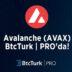 Avalanche (AVAX) BtcTurk PRO'da